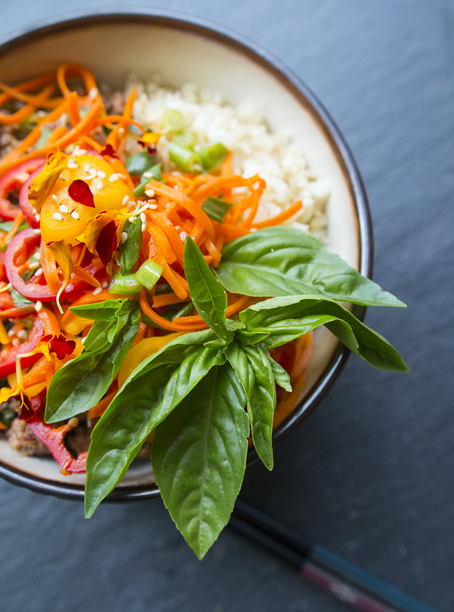 30 Minute Thai Beef with Basil (with Carbon-Farmed Beef) | Fresh Planet Flavor