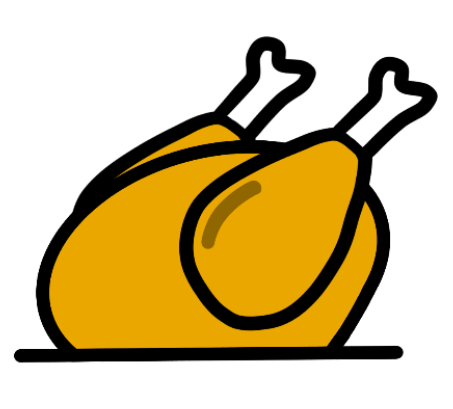 animated chicken icon