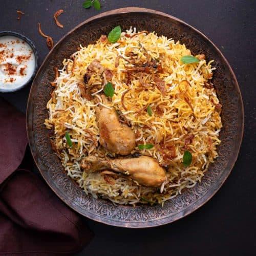 Chicken-Biryani-online - fresh protino