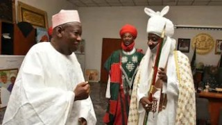 Resign or you will be sacked - Ganduje reportedly tells Emir Sanusi