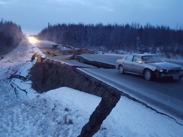 A road damaged in Anchorage e1543616013362