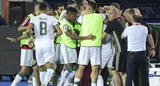 Video: Moment Algeria lifted 2019 AFCON