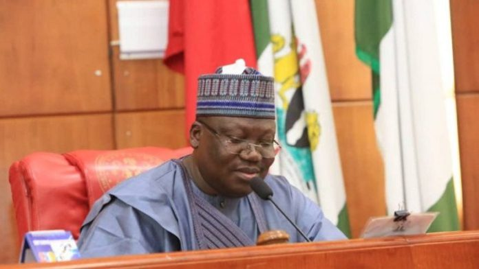 President of the Senate Ahmad Lawan e1562765352678