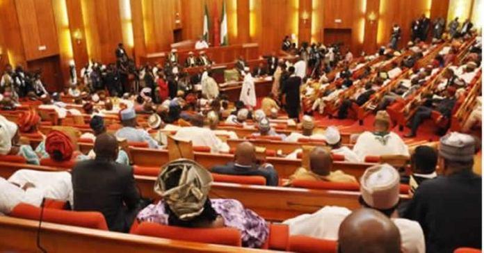 Senate at plenary