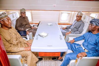 Photos: President Buhari Departs Abuja For Japan