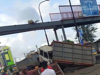 Collapsed Lagos Bridge
