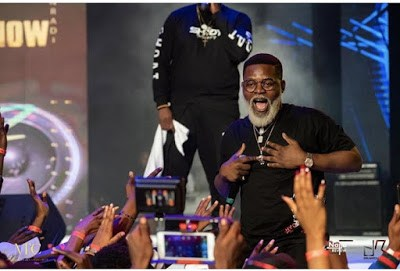 Falz' New Look As He Performs In Ghana