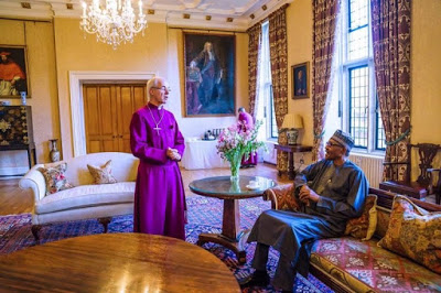 Photos: Buhari Hosted By Archbishop Of Canterbury In London