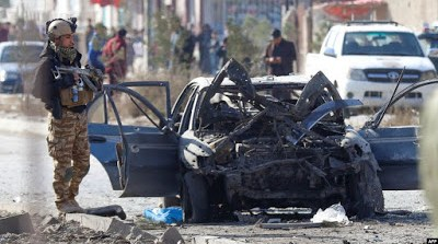 Car Bomb Explodes In Afghan Capital, Killing At Least 12