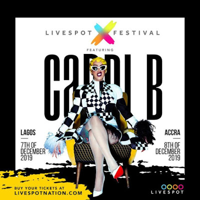 Cardi B Set To Perform In Nigeria On December 7th