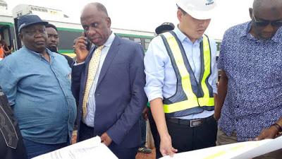 """""""Let Nigerians Know You've Done Good Work"""" - Amaechi Urges Rail Contractors"""