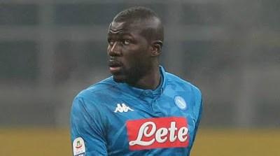 Man Utd Seal £64m Deal For Napoli's Koulibaly