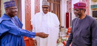 Senate President, Lawan, Discloses Details Of Meeting With Buhari, Gbajabiamila
