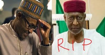 BREAKING! Buhari's Chief of Staff, Abba Kyari, Dies Of COVID-19