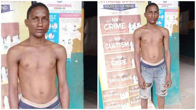 Police Arrests 23-Year-old Man For Defiling 3-year-old Girl