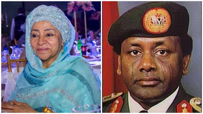 It's Shameful To Lie Against A Dead Man - Abacha's Wife Talks About Loot