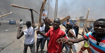 Protesters Block Major Road In Katsina, Leaving Many Stranded