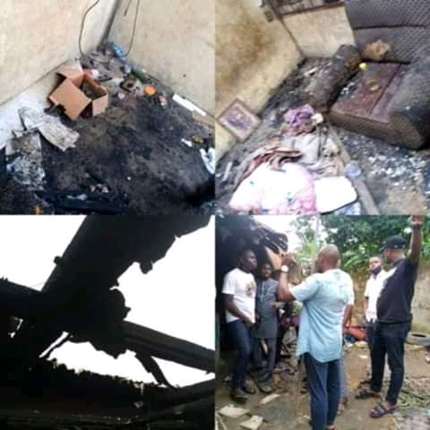 4 Family Members Burnt To Death In An Kerosene Explosion (Photos)
