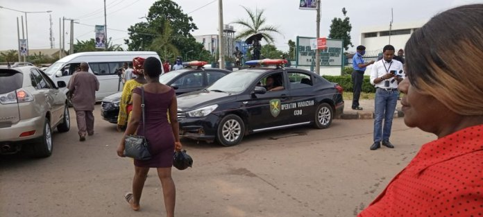Police Besiege Edo State House Of Assembly