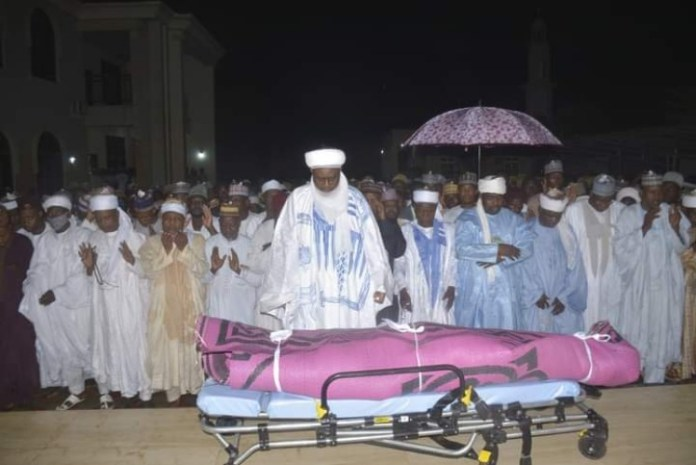 Daughter Of Former Sokoto Governor Who Died Of Childbirth Complications Laid To Rest.