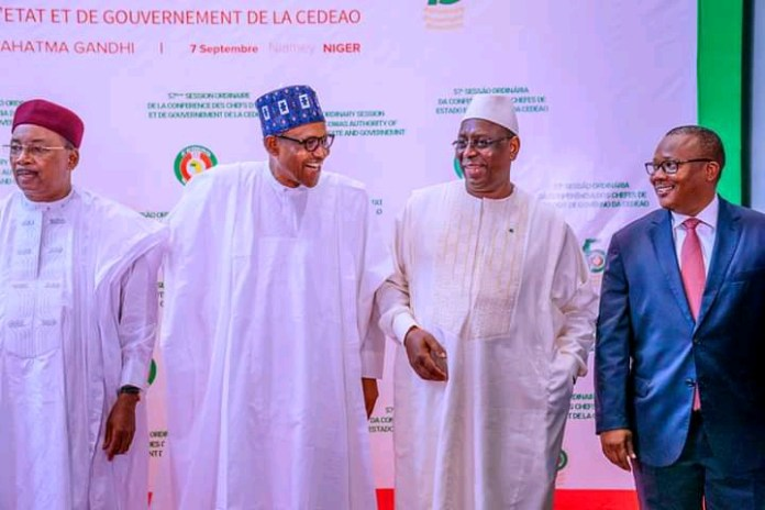 Buhari Attends 57th Ordinary Session Of ECOWAS In Niger (Photos)