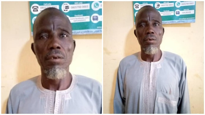 60-year-old Man Defiles His Neighbour's 5-year-old Daughter