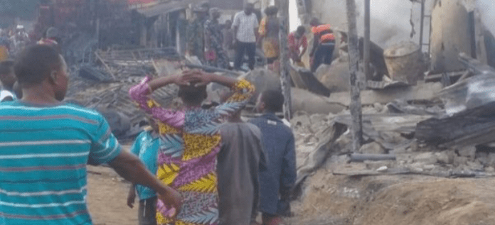 Tanker Explodes In Niger, Leaving Several Houses, Shops Burnt