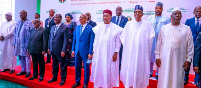 Buhari Attends 57th Ordinary Session Of ECOWAS In Niger