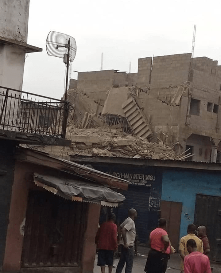 Storey Building Collapse In Abia