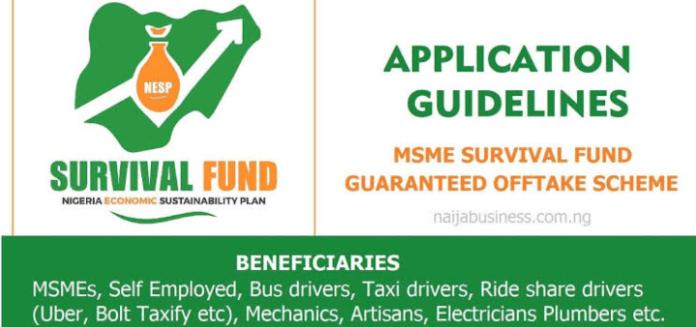 FG Lunch Online Portal For Nigeria To Access N75billion Survival Fund