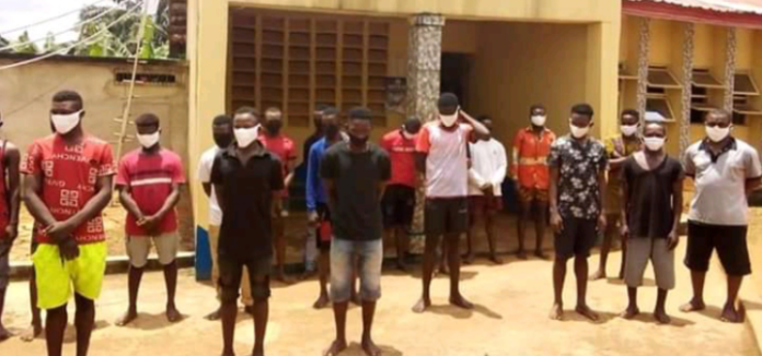 Police Arrests 80 Cultists In Anambra State