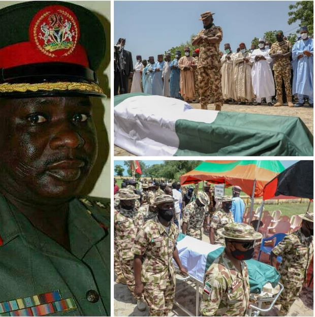 Nigerian Army Colonel Who Died After Boko Haram Ambush Laid To Rest