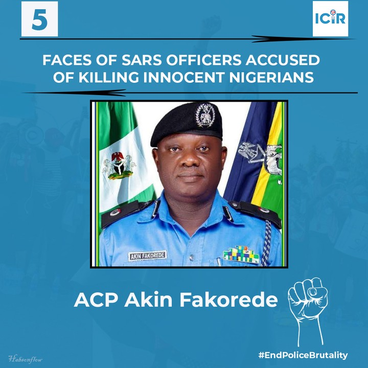 EXPOSED: 9 Faces Of SARS Officers Accused Of Killing Innocent Nigerians