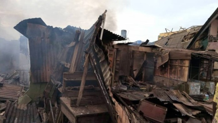 Lagos: 5 Killed After Gas Tanker Explodes [See Photos]