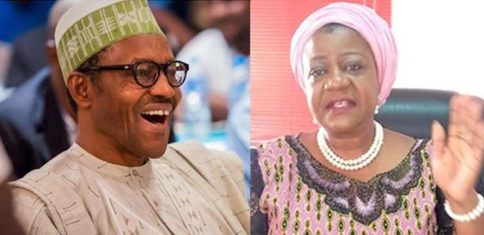 BREAKING!!! Buhari Unveils His Media Aide Onochie, 3 Others As INEC Commissioners