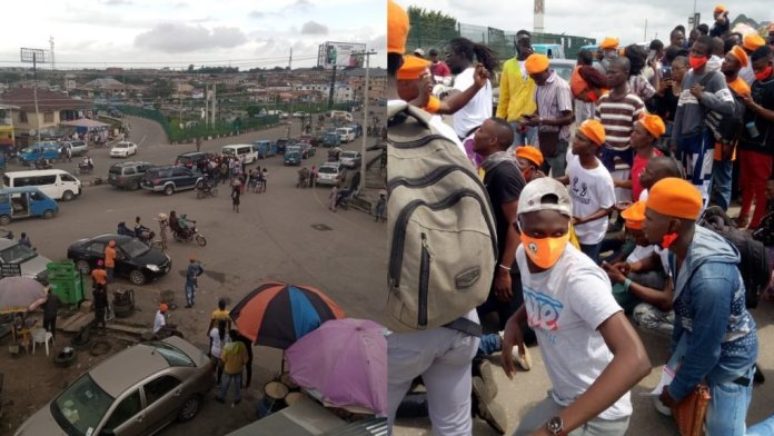 DSS Allegedly Brutalizes, Seize Money & Phones Of Revolution Now Protesters