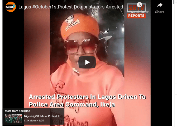 [VIDEO]DSS Allegedly Brutalizes, Seize Money & Phones Of #RevolutionNow Protesters