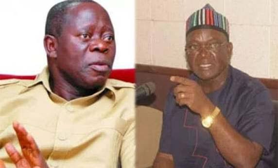 N10bn Suit: I Will Forgive Oshiomhole Only If He … – Gov Ortom