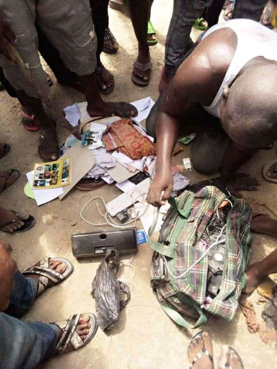 Pastor Caught With Female Pants, Laminated Pictures Of Girls In Bayelsa (Photos)