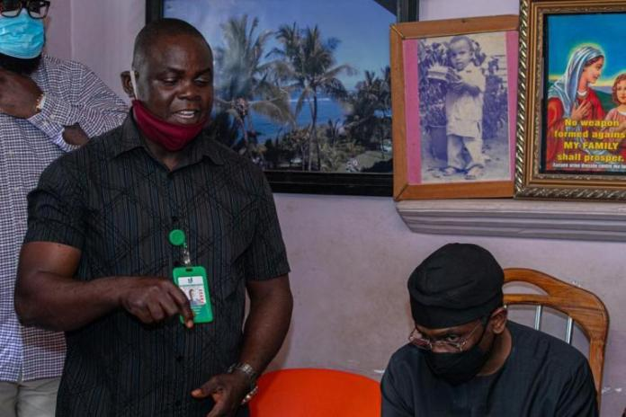 Gbajabiamila Visits Family Of Vendor Shot By His Security Aide (Photos)