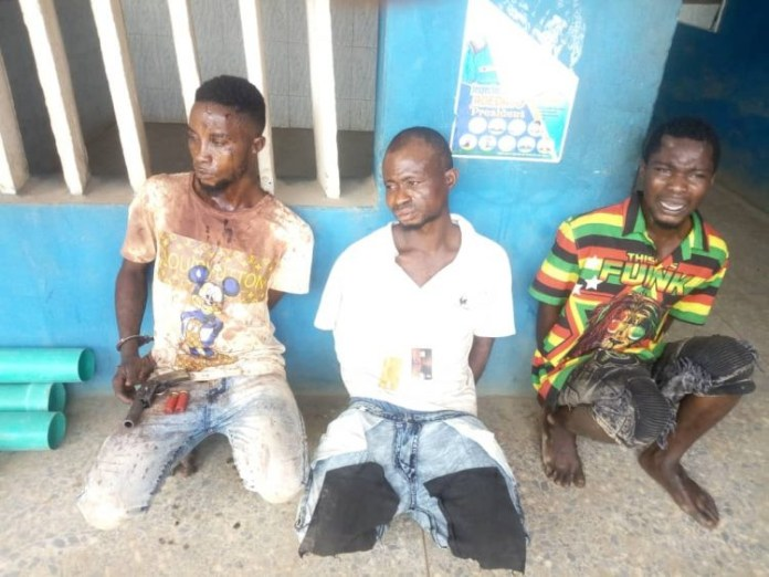 3 Robbers Arrested After Exchange Of Gunfire With Police In Ogun