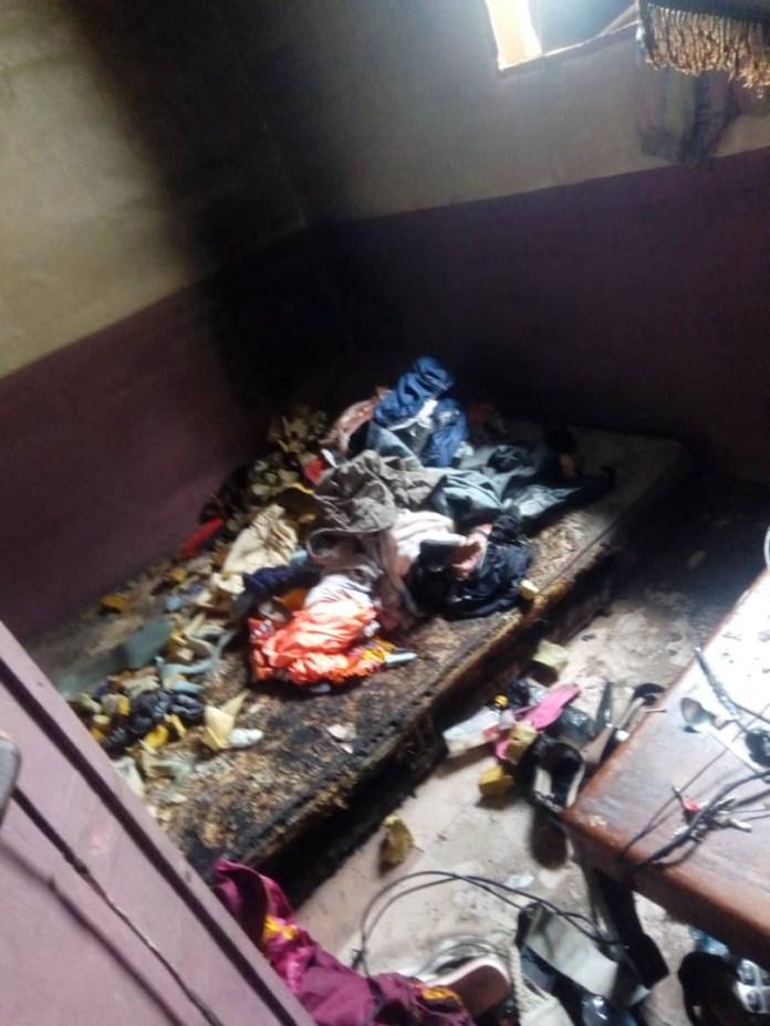 19-year-old Lady Set Her Ex-boyfriend's Home Ablaze, Killing His New Girlfriend (Photos)