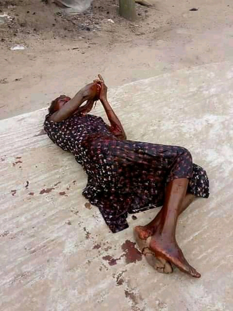 Mad Man Kills His Mothers Friend In Rivers State (Graphic Photo)