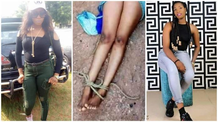 Lifeless Young Lady Found Inside Gutter With Hands And Legs Tied (Graphic Photos)
