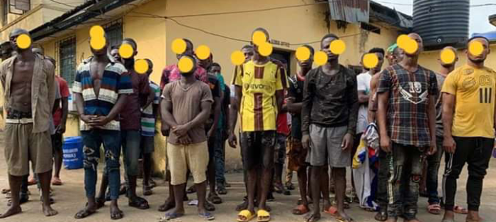 Police Parades 40 Criminals In Anambra State