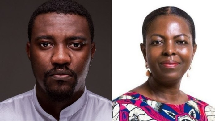 Actor John Dumelo Lost Parliamentary Seat To Lydia Alhassan In Ghana's Elections
