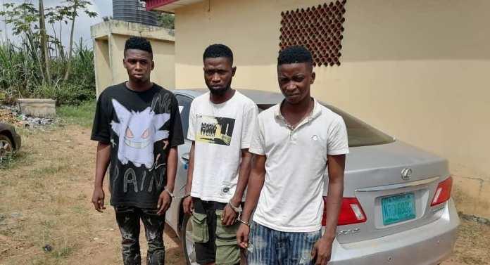 Police Nab Three Yahoo Boys For Gang-raping A Teenager In Ogun