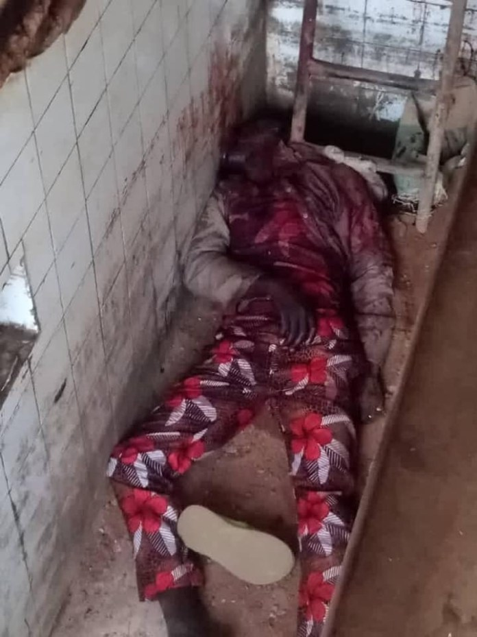 Security Guard Hacked To Death In Oyo State (Graphic Photos)