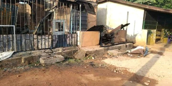 Fire Outbreak Razed Down Shops, Destroy Goods Worth Millions In Anambra (Photos)