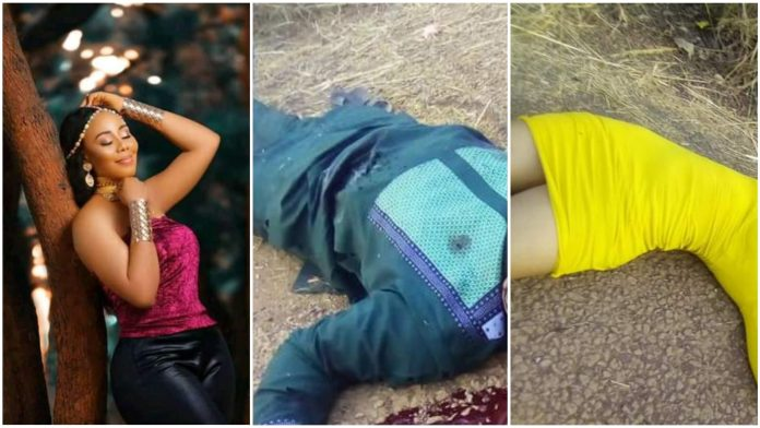 Cultists Shot Dead Young Lady And Her Boyfriend In Ebonyi (Graphic Photos)